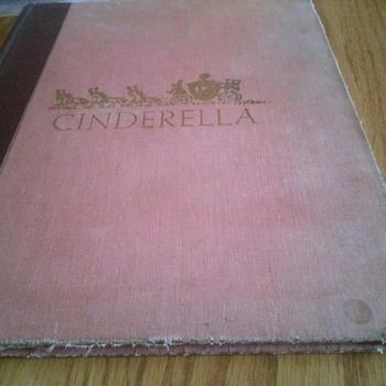 Vintage Cinderella Book