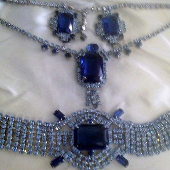 Vintage Jewelry Set - Art Deco