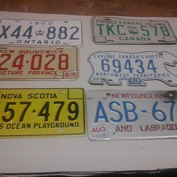 Vintage license plate  - Signs