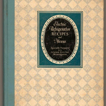 1929 - Electric Refrigerator Recipes (Gen. Electric) - Books