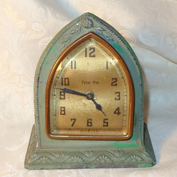 The First Peter Pan Clock