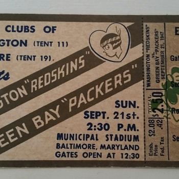 Need info on old ticket - Football