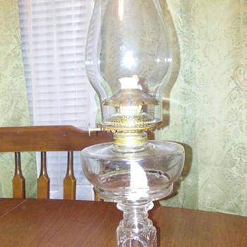 Adams Bradford oil lamp - Lamps