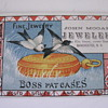 1880 Boss Watch Case Trade Card