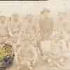 Old Baseball Team on a Vintage Postcard