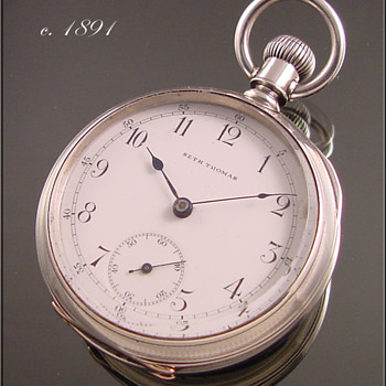 Seth Thomas 18s Pocket Watch c.1891