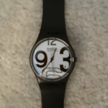 Vintage Swatch GB103 from 1983