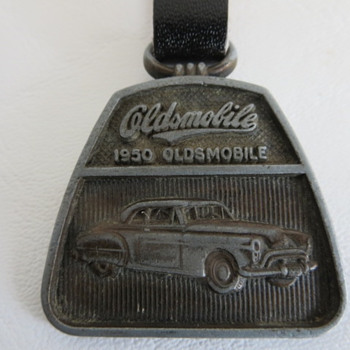 1950 Olds Watch Fob