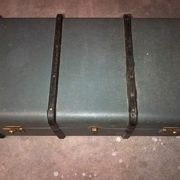 Cheney trunk made in England.