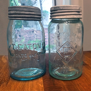 The T. EATON Co. Limited, Winnipeg Mason Jars