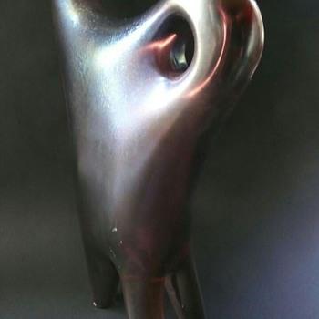 Giorgio Ferro Anse Volante vase? - Art Glass