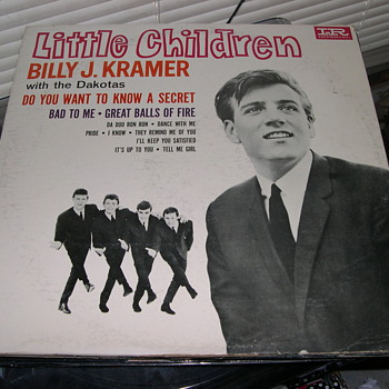 LITTLE CHILDREN BILLY J KRAMER WITH THE DAKOTAS IMPERIAL RECORD LABEL - Records