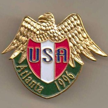 1996 - Atlanta Olympic Games Pin - Medals Pins and Badges