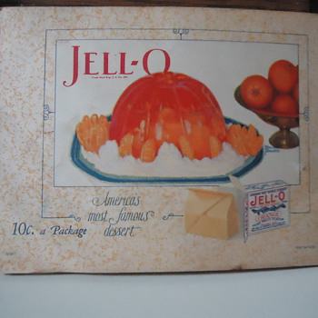 Jell-o...1927 Ad - Advertising
