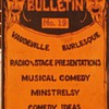 McNally's Bulletin No. 19  Vaudeville  Burlesque 1934