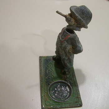 Early Lead Nodder / Bobblehead Cigar Snuffer - Tobacciana