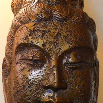 Buddha Lamp Mid-Century James Mont