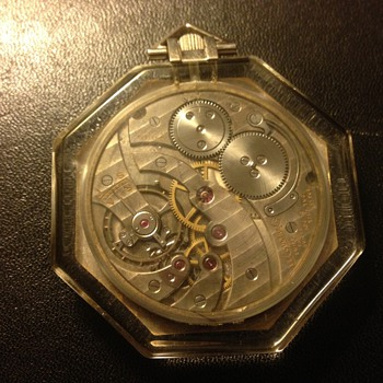 Cartier /Le Coultre Co. Pendent / Pocketwatch