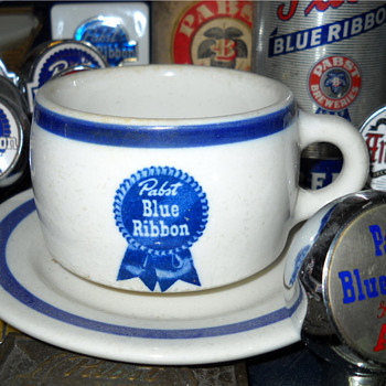 Pabst Blue Ribbon Coffee Cup