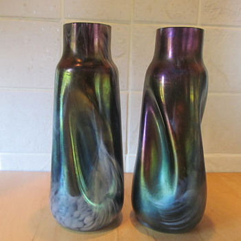 lovely glass vases - Art Glass