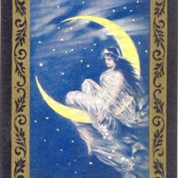 CONGRESS PLAYING CARDS MOON FAIRY - Cards