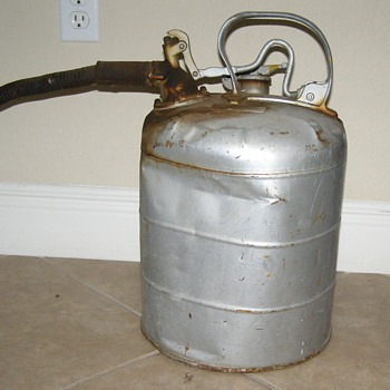 Antique Gas Can - Petroliana