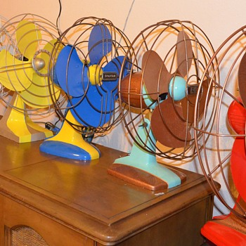 1940's Table Fan Restorations - Office