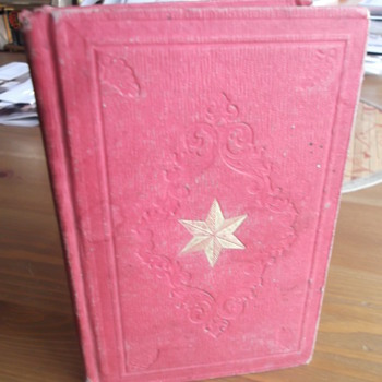 "Antique Book ""Echoes From The Cabinet""  From 1857"