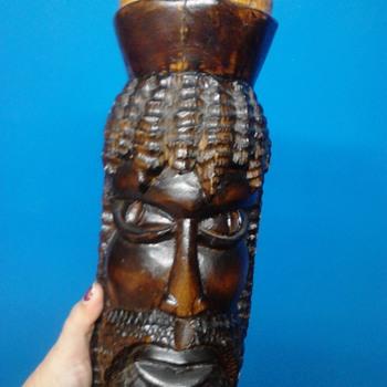 Unusual Tribal Statue - Visual Art