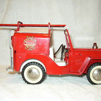 Tonka Fire Jeep