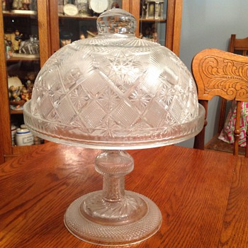 My favorite covered cake stand - Glassware
