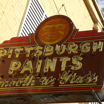 Porcelian Paint Signs