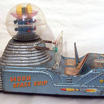 Nomura Vintage Space Moon Car