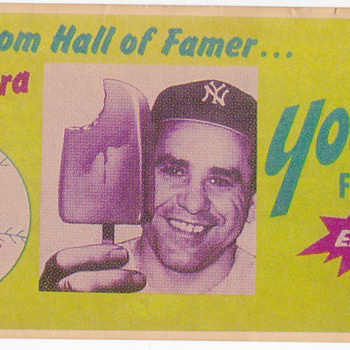 Vintage Hall of Famer Product Ads - Baseball