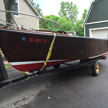 1958 Thompson Fishing boat