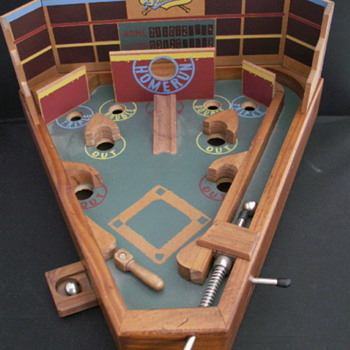 Circa Baseball Pinball Game - Coin Operated