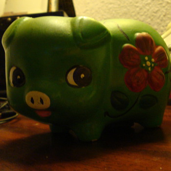 I need Info in this Piggy Bank - Coin Operated
