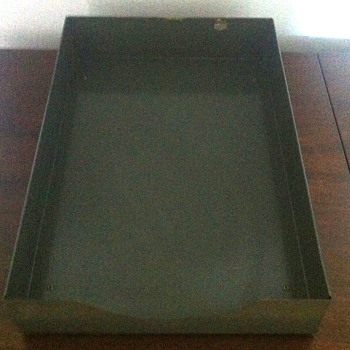 I.C. Industrial tray.