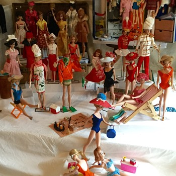 Vintage Barbie 1964 part I - Dolls
