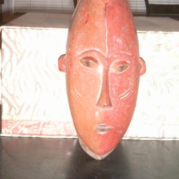 Ivory Coast African Mask