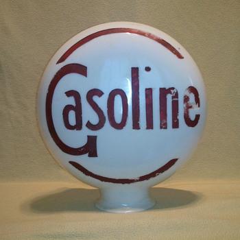 Vintage Gasoline Globe - Petroliana