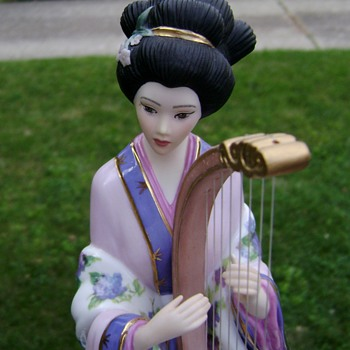 Harp Princess by Lena Liu & The Danbury Mint