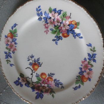 Harker 1840 bread and butter plate