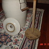 Antique Butter Churn Crock