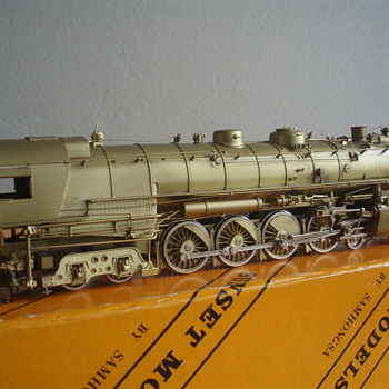 BRASS STEAM LOCOMOTIVE - Model Trains