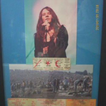 Janis Joplin Woodstock tickets - Music