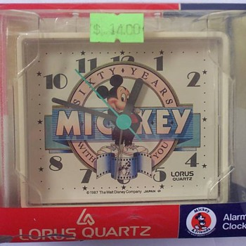 1987 60th Ann Mickey Alarm - Clocks