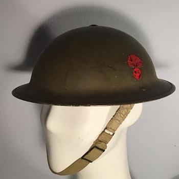 WWII Canadian Winnipeg Grenadiers Helmet