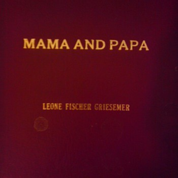 Mama and Papa, a written history of my family