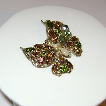 Regency Jewels Butterfly Brooch